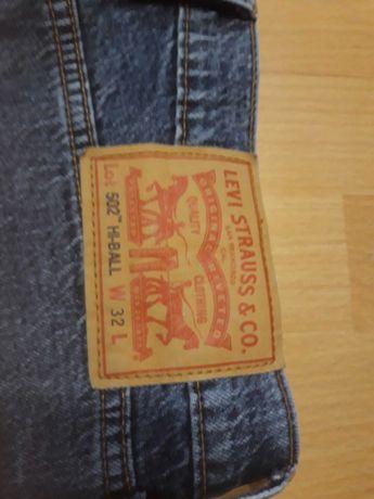 Spodnie jeans Levi's HI-BALL 502  32