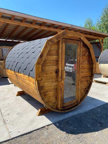 Sauna Ogrodowa Drewniana 250 super cena