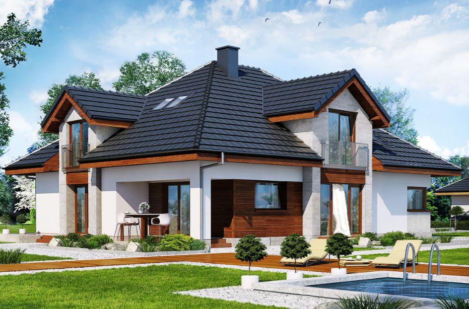 Projekt domu DOM W HEBE Archon Kraków - image 1