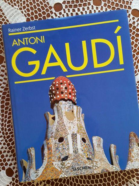 Antoni Gaudi Rainer Zerbst piękny album architektura