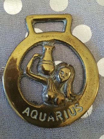 Odlew Zawieszka Aquarius mosiądz