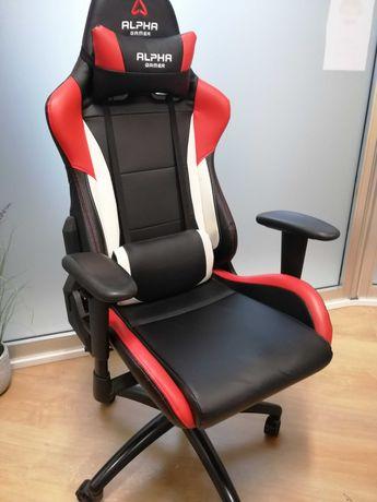 Cadeira Gaming Alpha Gamer Orion V2 Black/White/Red