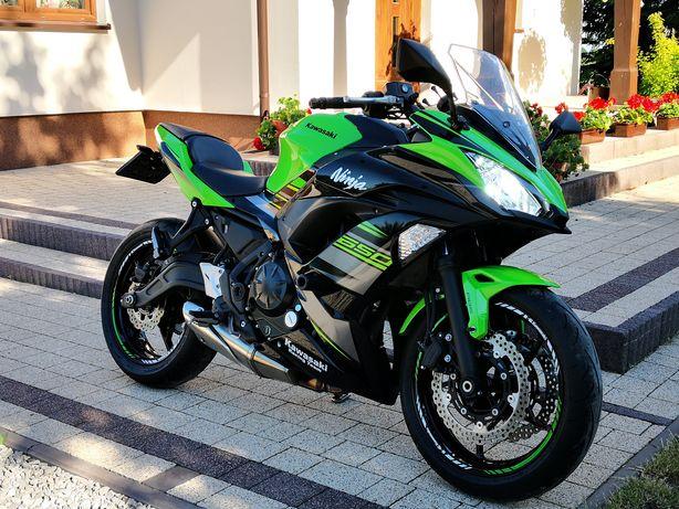 Kawasaki ninja 650 KRT kat. A2  35 Kw **przebieg 2300 km** jak nowy