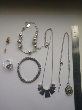 Бижутерия, украшения, брош, браслеты, типа пандора