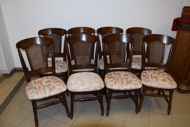 krzesła dębowe 6 szt
