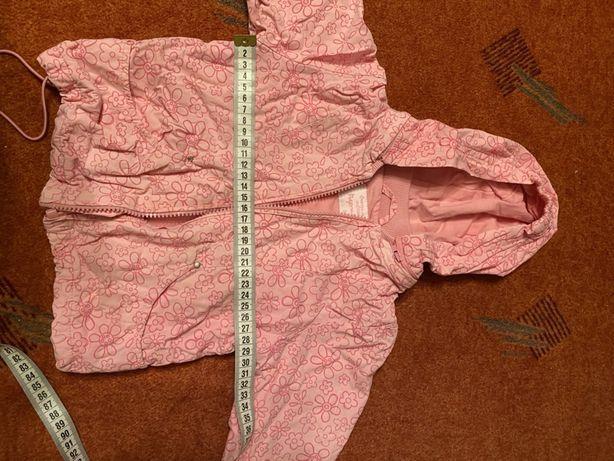 Ветровка куртка для девочки на 1 год