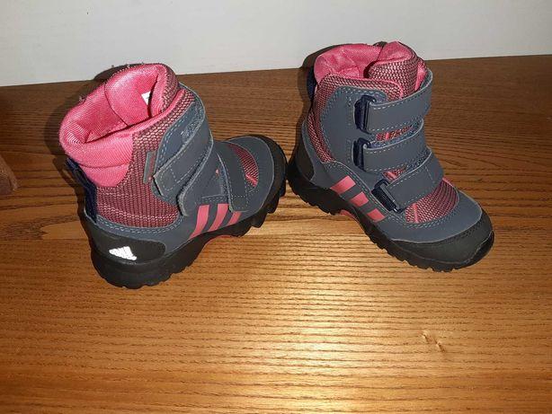 Buty zimowe dziewczęce Adidas