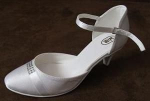 Buty ślubne Witt rozmiar 36 atłas kolor biały 196
