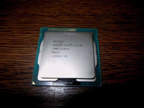 Продам процесоп intel core i7 3770k