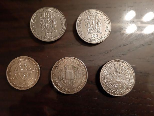 Moedas de Prata e moedas antigas
