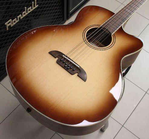 Gitara e-akustyczna barytonowa Alvarez ABT60CE8 SHB - 8 strun - nowa!