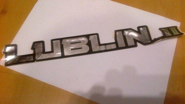 Naklejka samochodowa LUBLIN ii