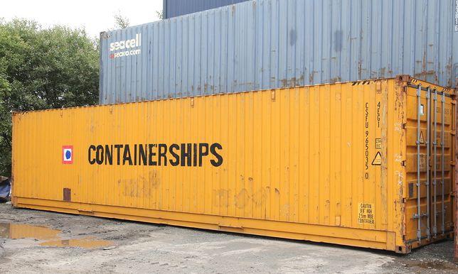 Contentores marítimos 45 Pés High Cube Pallet Wide - Entrega Imediata