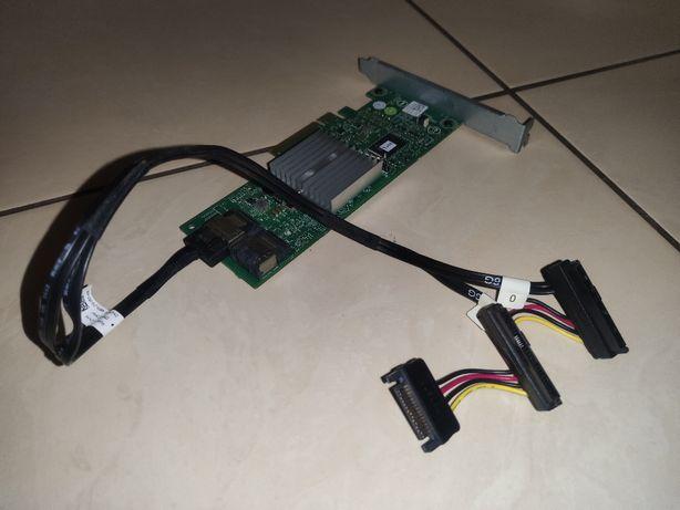 Kontroler RAID DELL PERC H310 6Gb/s PCIe + przewód 0T3F4V !
