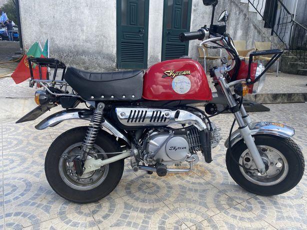 Mini moto para adulto