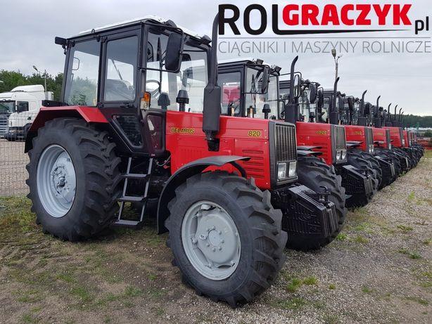 Nowy Ciagnik MTZ Belarus 820 | 952.2 1025.2 | 1221 | Kredyt 10Lat Raty