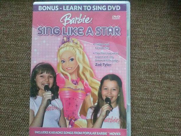 Bajka,gra Barbie DVD,karaoke