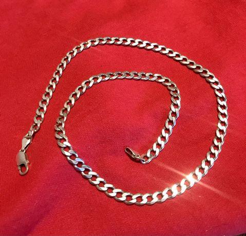 Łańcuszek srebrny męski 55cm
