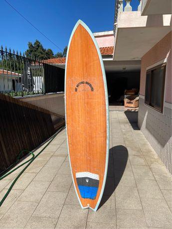 Prancha de surf Hot buttered 7'4