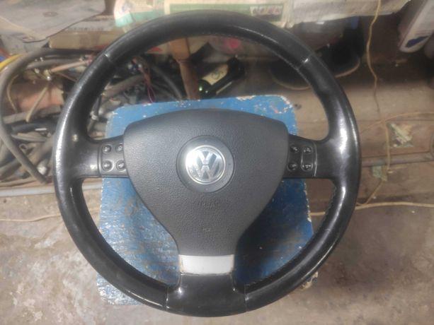 Руль, AIRBAG, подушка, шлейф Volkswagen Passat B6