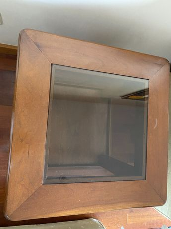 Mesa de madeira sala