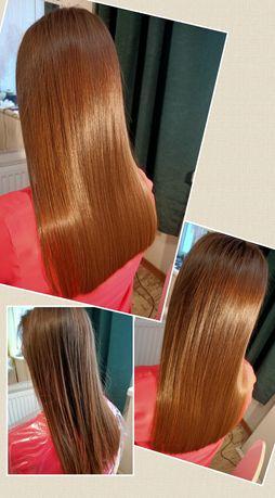Promocja))) Keratynowe prostowanie włosów, Nanoplastia)))