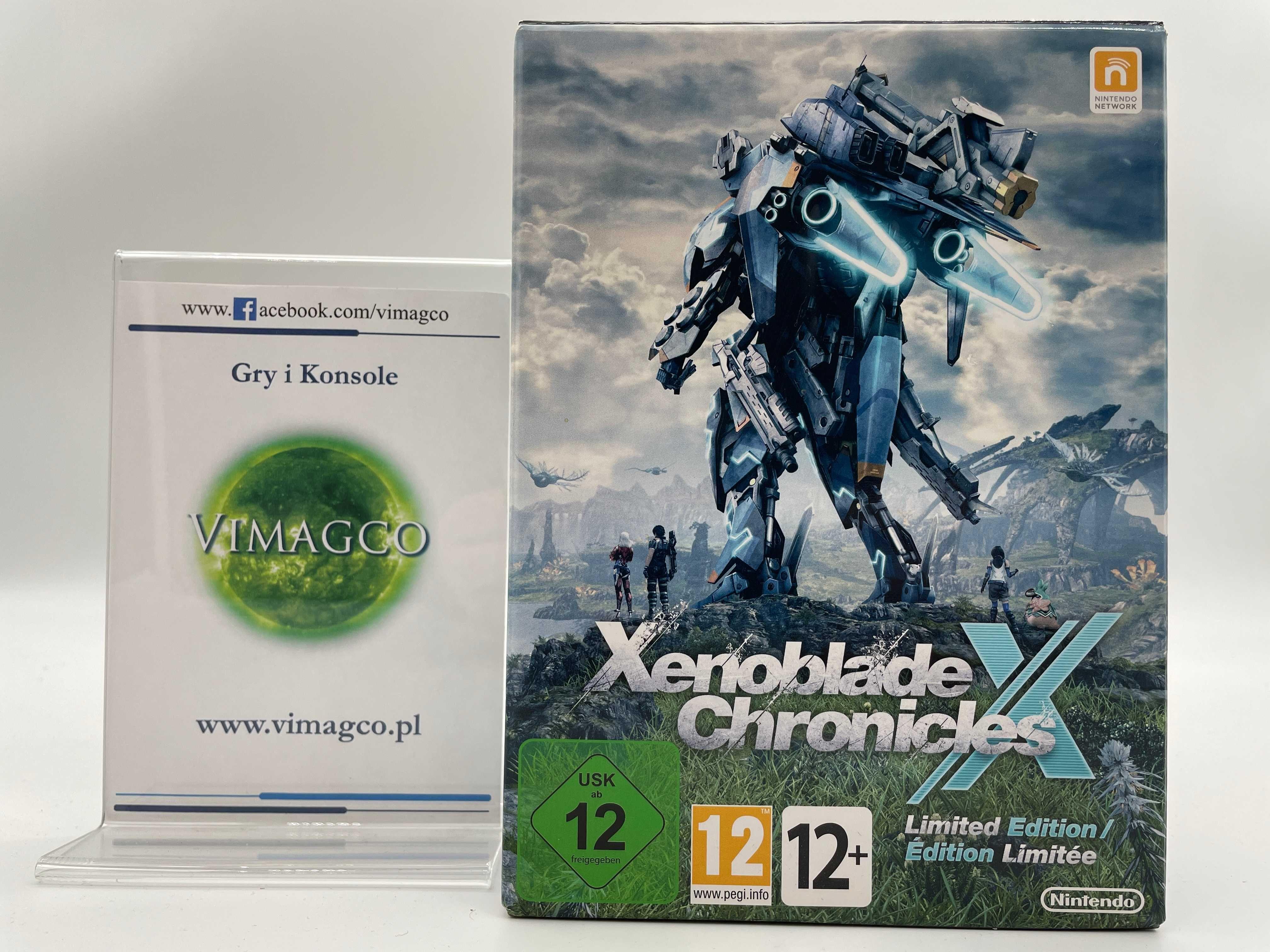 Xenoblade Chronicles LE Nintendo WiiU Sklep Vimagco Bydgoszcz GiK