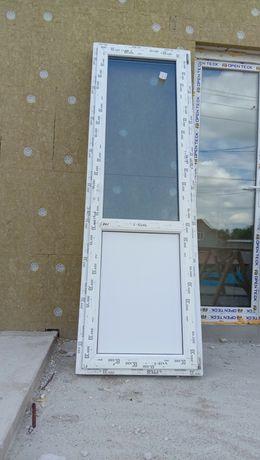Двери балконные, окно KBE