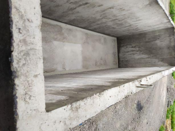 Kanał samochodowy betonowy warsztatowy garażowy-protucent