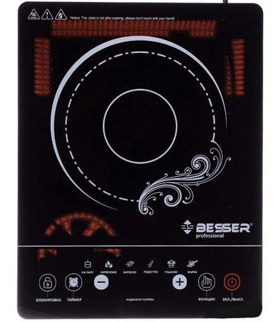 Новая плита инфракрасная сенсорная Besser 10249 электроплита печь