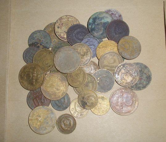 Монеты до денежной реформы 1961г - 60 шт