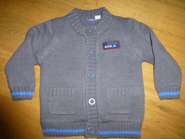 Sweter b.ciepły na Polarze R.92 *JAK NOWY*