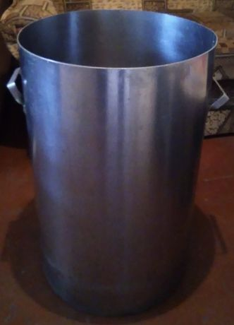 Бак с нержавеющей стали для солений б/у,на 50-60литров