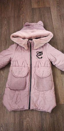 Куртка,пальто зима 116-122р