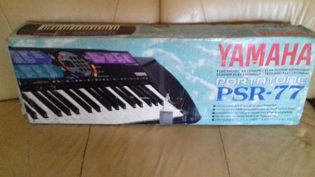 Keyboard Yamaha PSR - 77