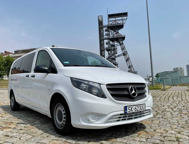 Transport Bus 9 osobowy Mercedes Vito Taxi VIP