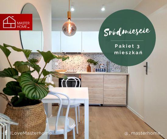 • Wynajęty Pakiet 3 mieszkań • czynsz: 3500 zł/mc