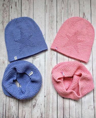 Вязаная шапочка ручной работы, весенняя шапочка, демисезонная шапка