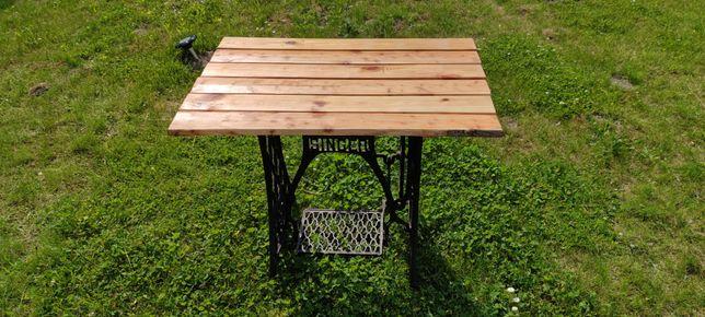 Stół stolik ogrodowy maszyna singer