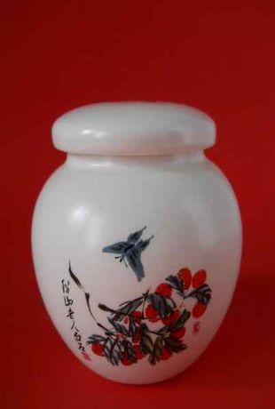 Фарфоровая Китайская чайница