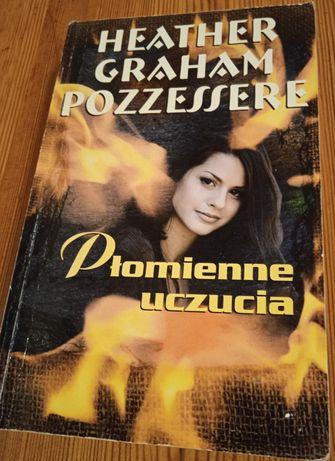 Książka Heather Graham Pozzessere - Płomienne uczucia + 2 inne książki