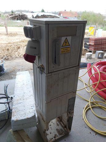 Skrzynka prądowa budowlana