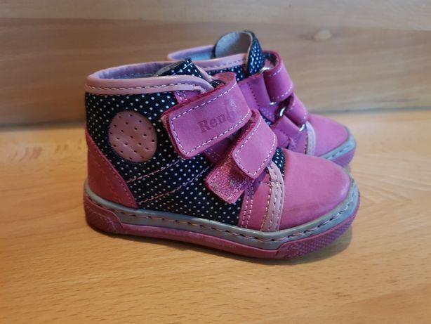 Skórzane buty dla dziewczynki r.20