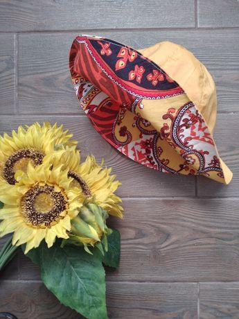 Солнечная детская шляпа/панамка hand made