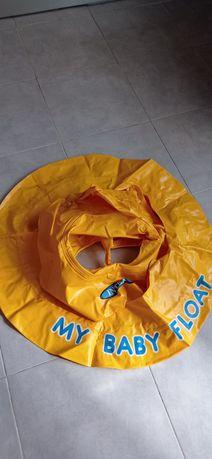 Boia + piscina insuflável para Bebé