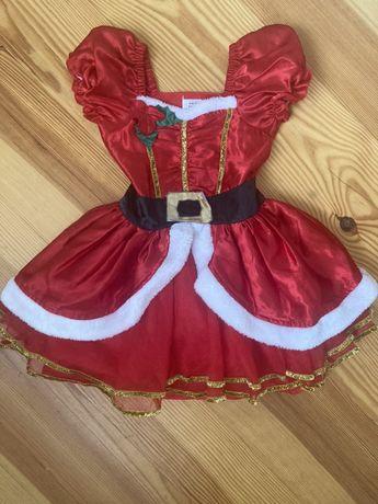 Платье новогоднее 3-4 года. Праздник