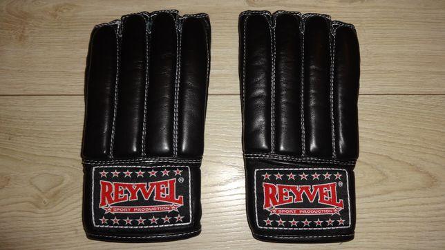 Перчатки боксерские (снарядные) REYVEL (натуральная кожа)