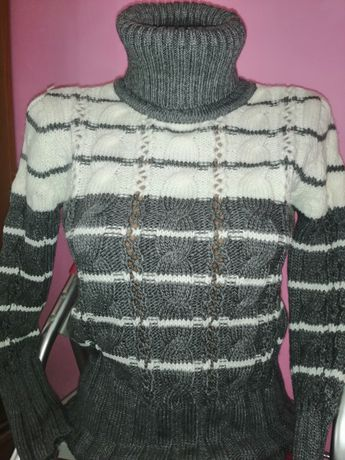Тёплая вязаная кофта, свитер, Турция, S / M