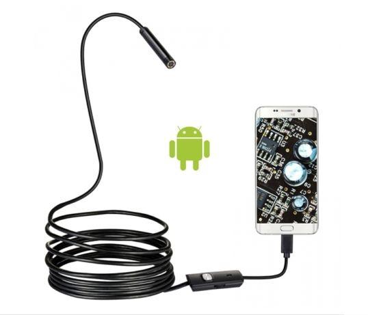 NoWy ENDOSKOP Kamera Inspekcyjna ANDROID USB 10M 5.5mm