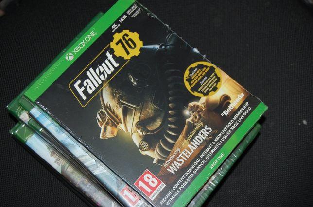 Xbox One Xone Fallout 76 + Wastelanders PL Folia